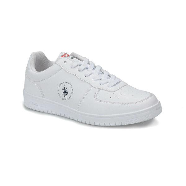 U.S. Polo Assn. DIMLER Beyaz Erkek Sneaker Ayakkabı