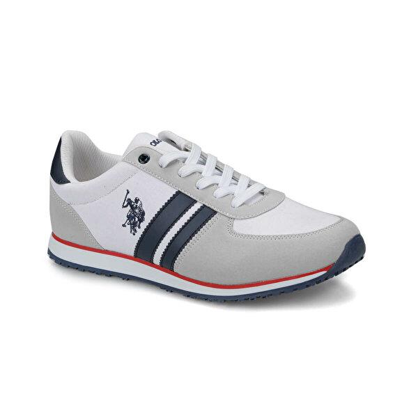 U.S. Polo Assn. PLUS Beyaz Erkek Sneaker Ayakkabı