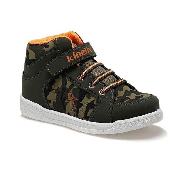 Kinetix LENKO HI C 9PR Haki Erkek Çocuk Sneaker Ayakkabı