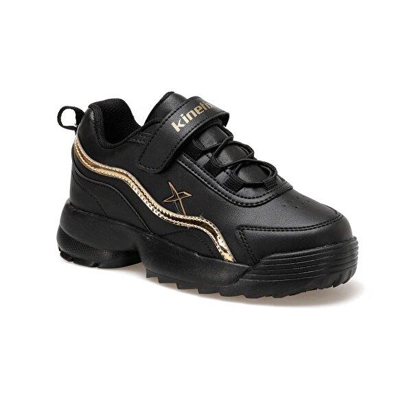 Kinetix SPACE 9PR Siyah Kız Çocuk Yürüyüş Ayakkabısı