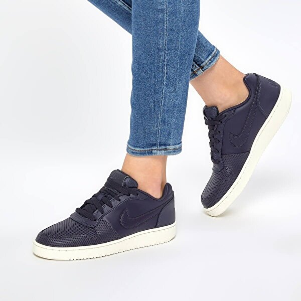 Nike EBERNON LOW PRE Lacivert Kadın Sneaker Ayakkabı