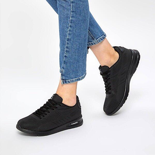 Kinetix NINA PU 9PR Siyah Kadın Sneaker