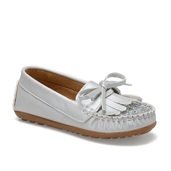 Seventeen SONA Gri Kız Çocuk Loafer Ayakkabı