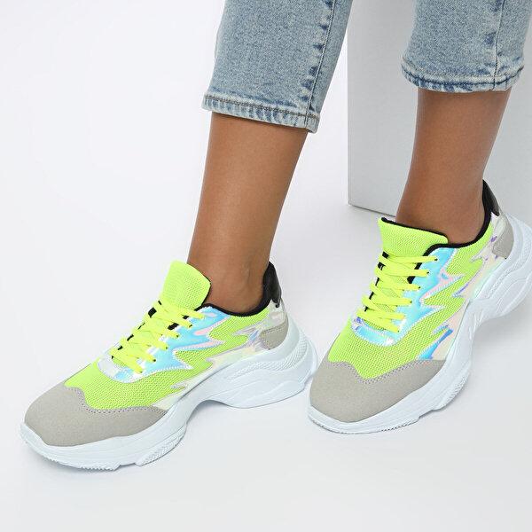 Butigo 19SF-1614 Neon Yeşil Kadın Sneaker