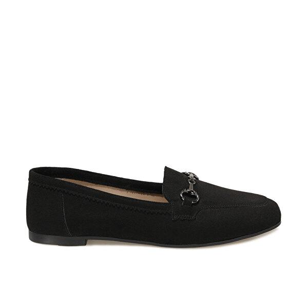 Butigo OZIL Siyah Kadın Loafer Ayakkabı