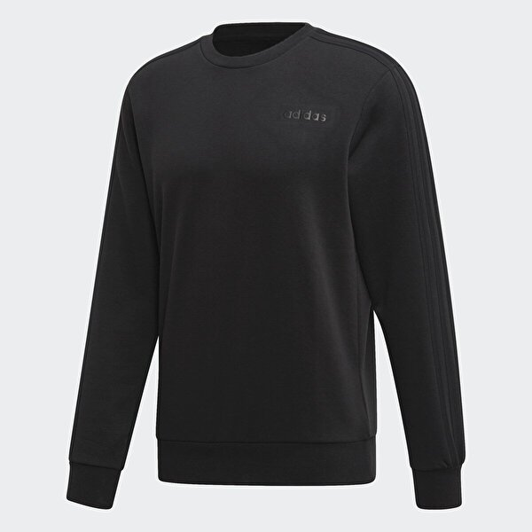 Adidas E 3S CREW FT Siyah Erkek Sweatshirt