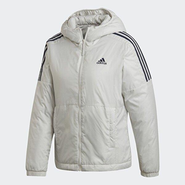 Adidas W ESS INS HO J Gri Kadın Mont