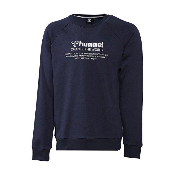 Hummel HMLNUMAS Lacivert Erkek Sweatshirt