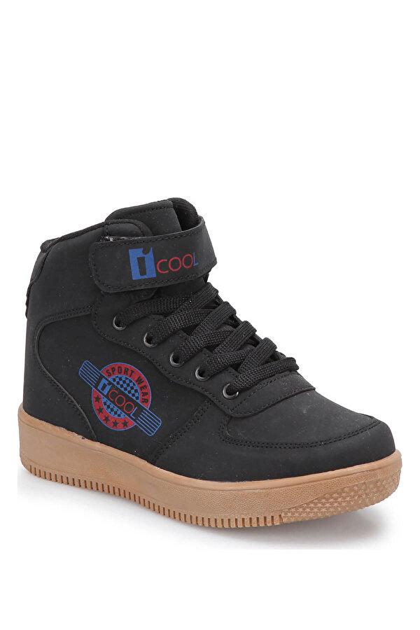 I Cool FLASH HI Siyah Erkek Çocuk Sneaker Ayakkabı