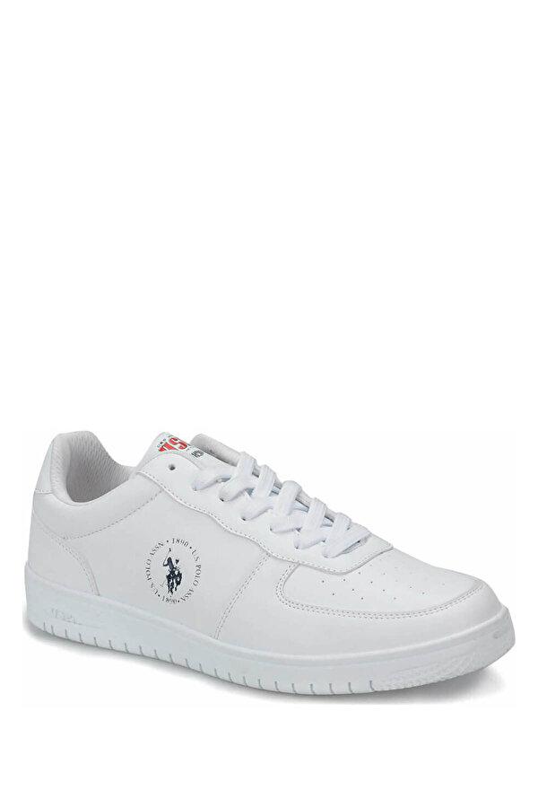 U.S. Polo Assn. DIMLER Beyaz Erkek Sneaker