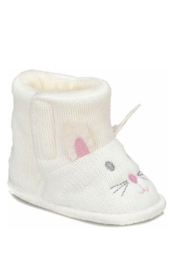 Pink Step PONCY-2 Beyaz Kız Çocuk Panduf