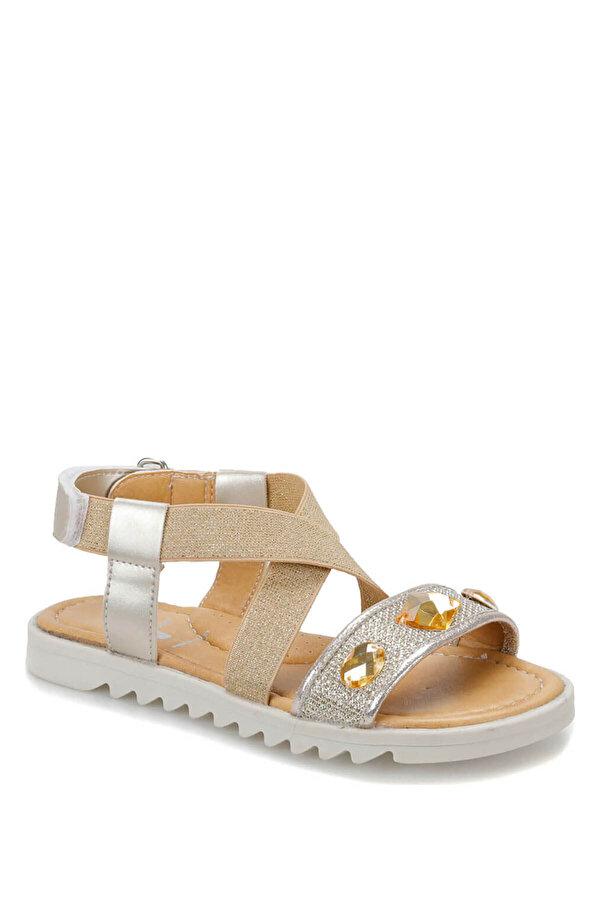 Seventeen BANKO Altın Kız Çocuk Sandalet