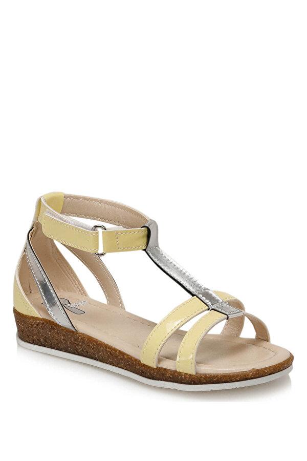 Seventeen BANDI Gümüş Kız Çocuk Sandalet