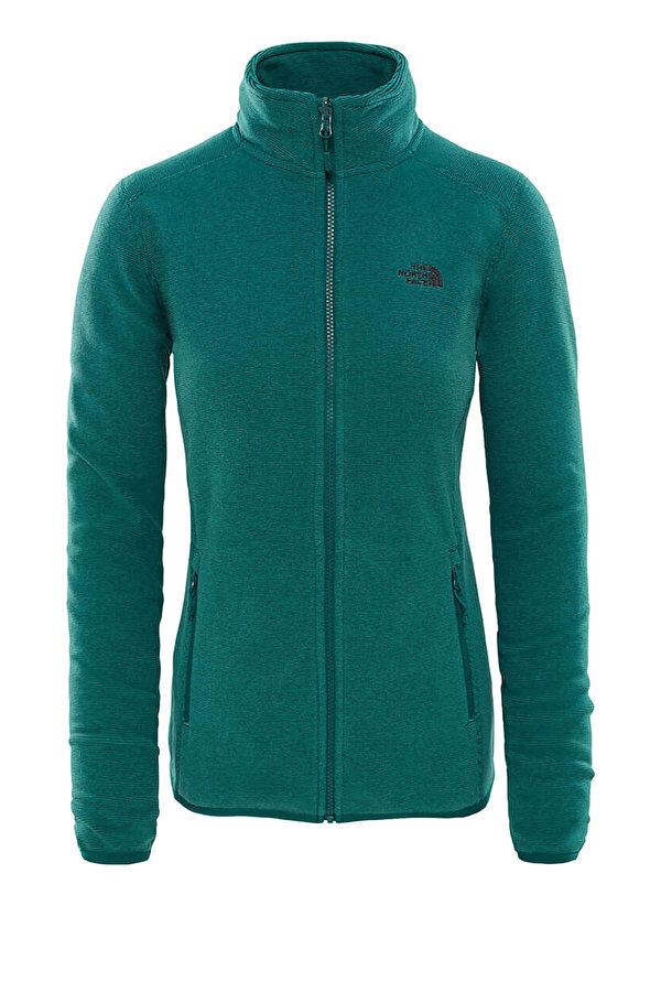THE NORTH FACE W 100 GLACIER FULL Yeşil Kadın Ceket