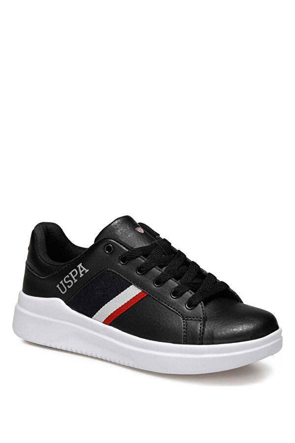 U.S. Polo Assn. CAMEL 9PR Siyah Kadın Sneaker