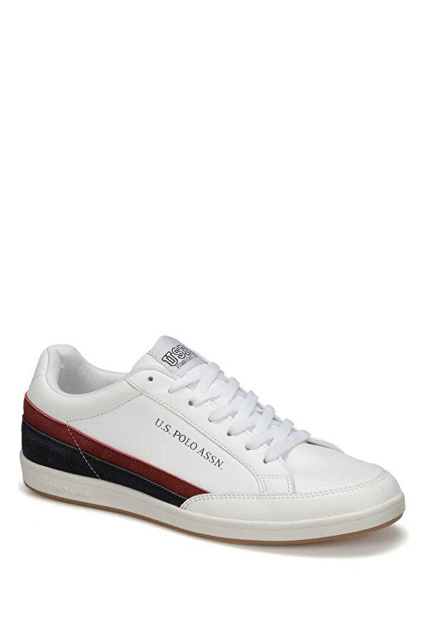 U.S. Polo Assn. CRAWFORD 9PR Beyaz Erkek Sneaker Ayakkabı