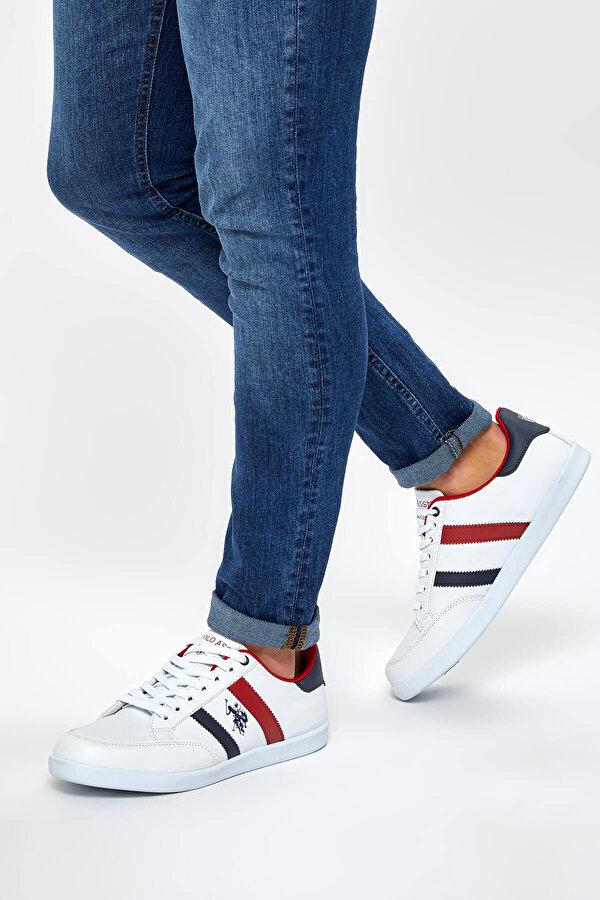 U.S. Polo Assn. SANTO WT 9PR Beyaz Erkek Sneaker
