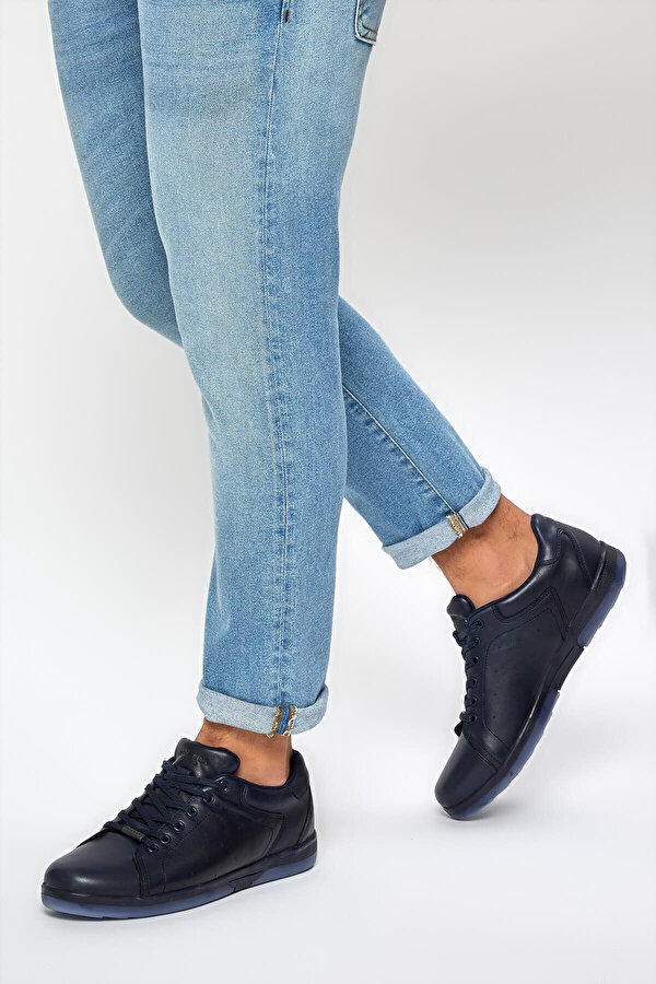 Dockers by Gerli 227130 9PR Lacivert Erkek Sneaker Ayakkabı