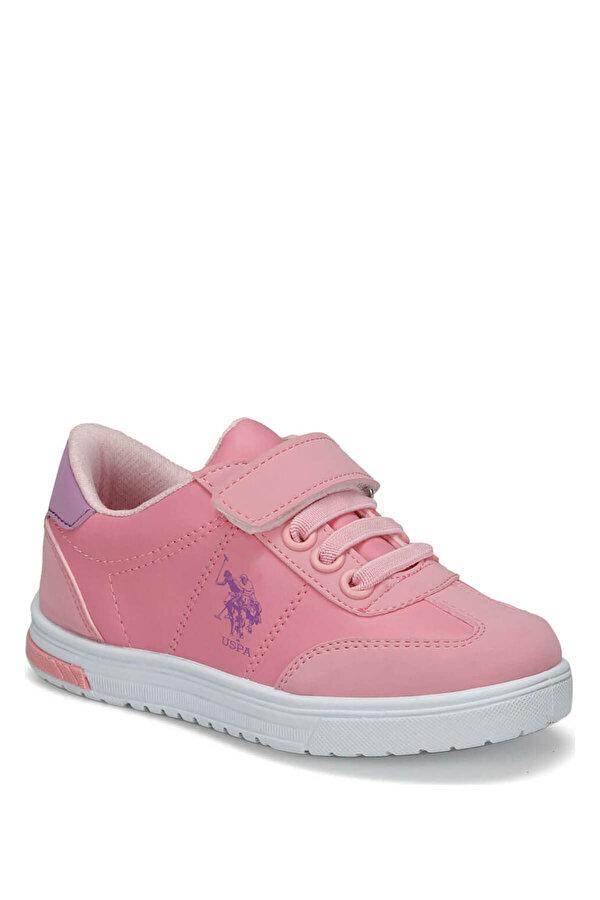 U.S. Polo Assn. GLOCK 9PR Pembe Kız Çocuk Sneaker Ayakkabı