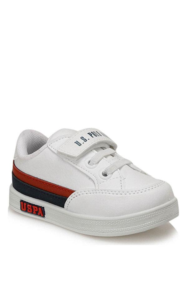 U.S. Polo Assn. JAMAL 9PR Beyaz Erkek Çocuk Sneaker