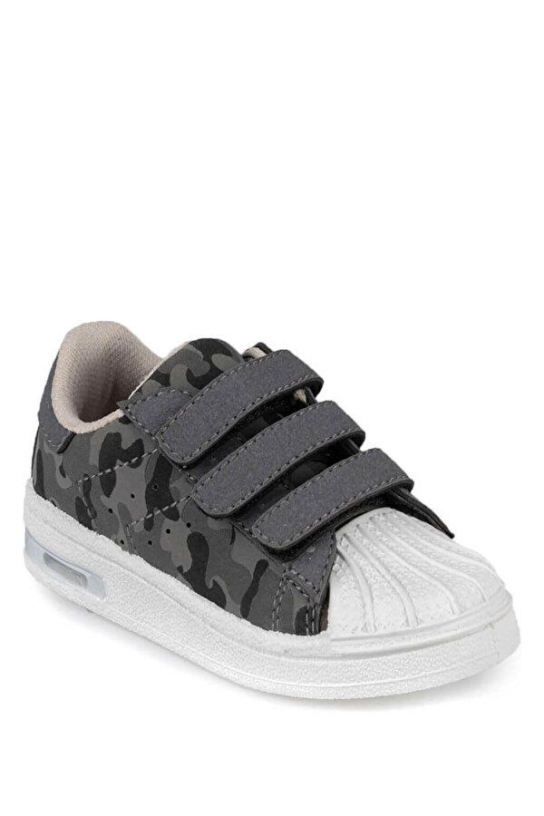 Kinetix MONTY CAMO 9PR Gri Erkek Çocuk Sneaker