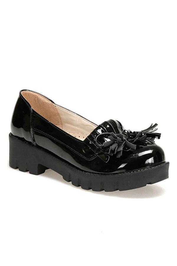 Seventeen BAM100.1.19F Siyah Kız Çocuk Oxford Ayakkabı