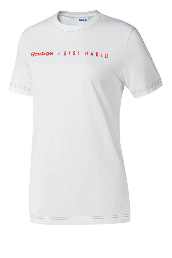 Reebok GIGIX Beyaz Kadın Kısa Kol T-Shirt