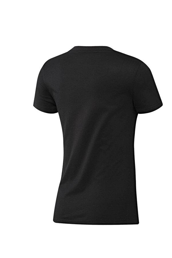 Adidas W E LIN SLIM T Siyah Kadın T-Shirt