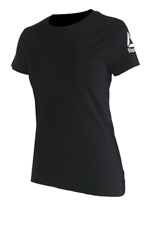 Reebok WOR COMM TEE Siyah Kadın Kısa Kol T-Shirt