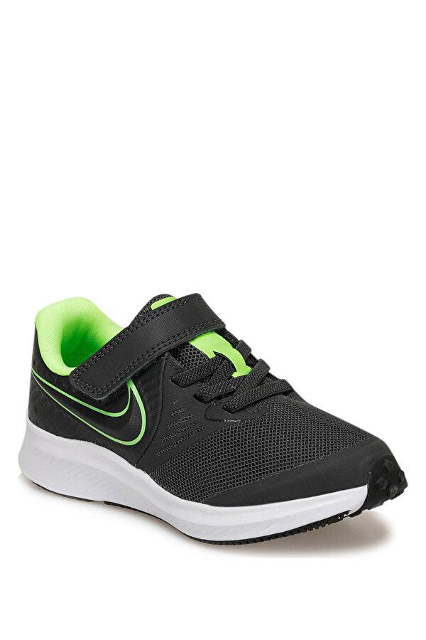Nike STAR RUNNER 2 (PSV) Siyah Erkek Çocuk Yürüyüş Ayakkabısı