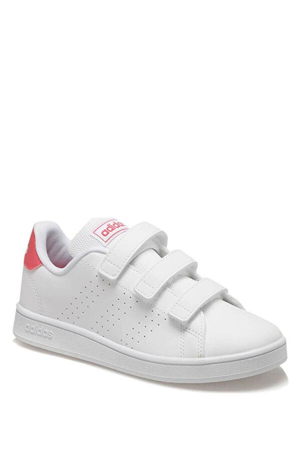 Adidas ADVANTAGE Beyaz Kız Çocuk Sneaker Ayakkabı
