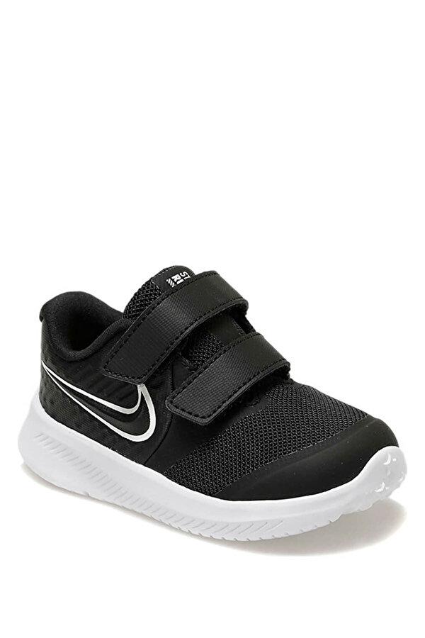 Nike STAR RUNNER 2 (TDV) Siyah Erkek Çocuk Koşu Ayakkabısı