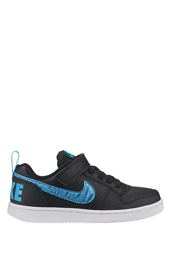 Nike COURT BOROUGH LOW EP (PSV Siyah Kız Çocuk Sneaker