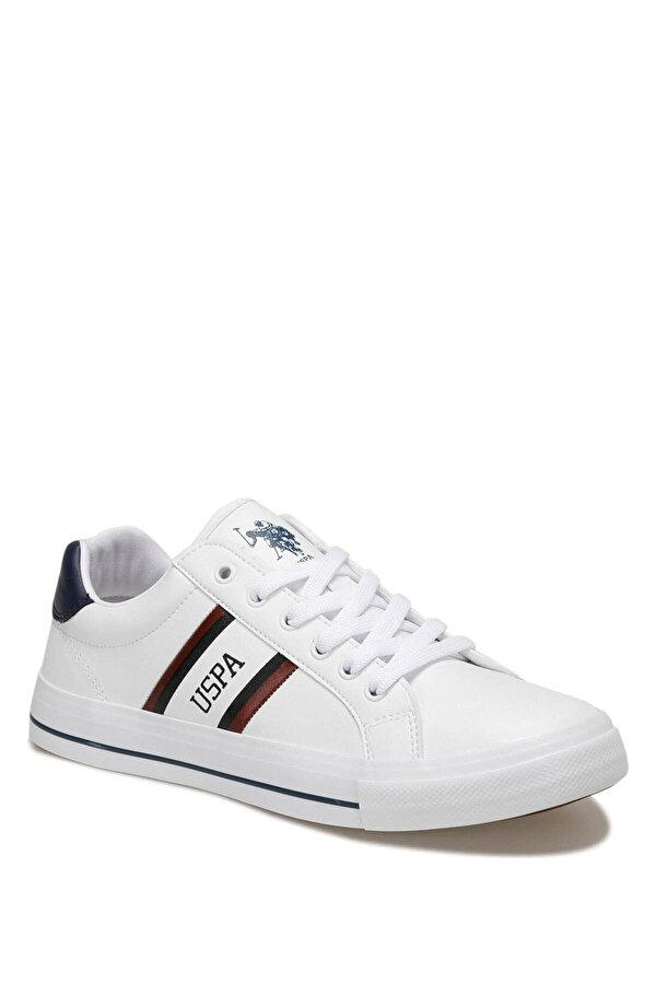 U.S. Polo Assn. PURE Beyaz Erkek Sneaker