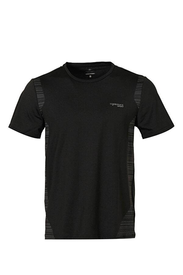 Lumberjack M-18187 DALE KK TSHIRT Siyah Erkek Kısa Kol T-Shirt