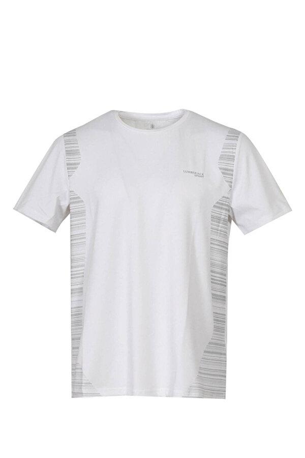 Lumberjack M-18187 DALE KK TSHIRT Beyaz Erkek Kısa Kol T-Shirt
