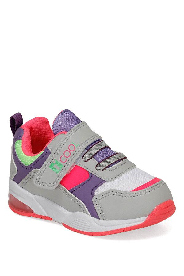 I Cool LILLY Gri Kız Çocuk Yürüyüş Ayakkabısı
