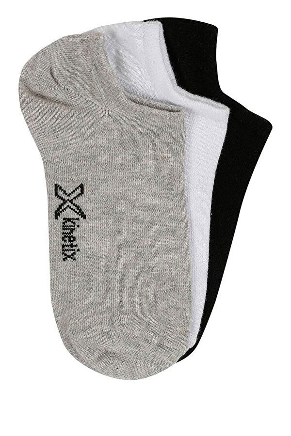 Kinetix DEBORAH Gri Kadın Patik Çorap