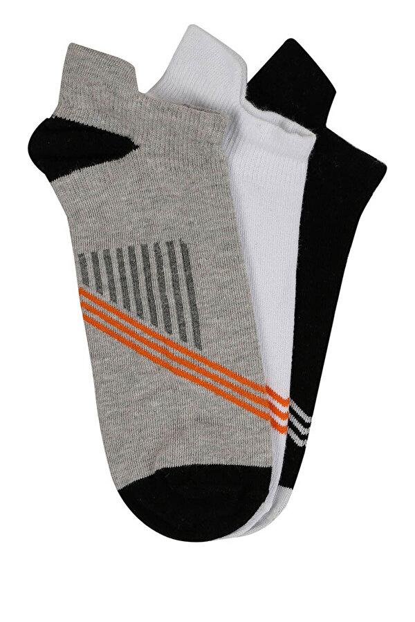 Kinetix DESMOND Beyaz Erkek Patik Çorap