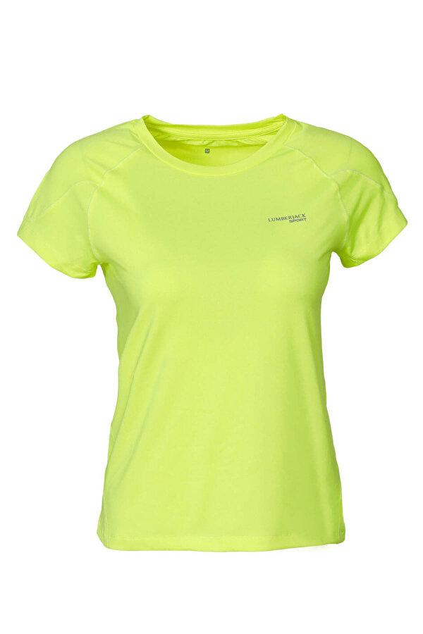 Lumberjack M-18073 CHARLTON KK TSHIR Sarı Erkek Kısa Kol T-Shirt