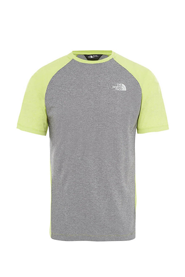 THE NORTH FACE M PURNA S/S Yeşil Erkek T-Shirt