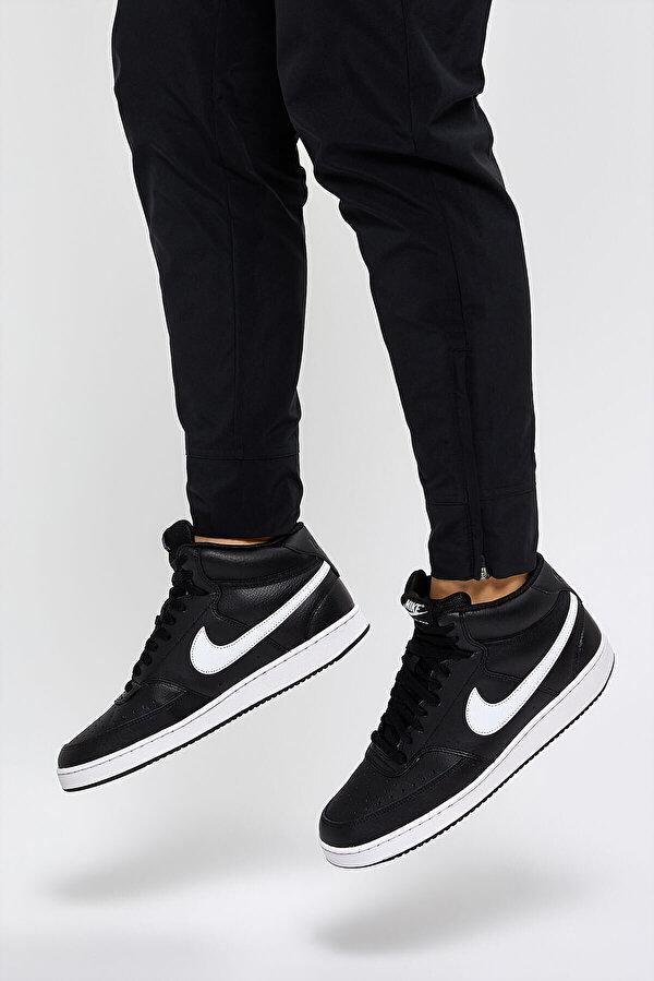 Nike COURT VISION MID Siyah Erkek Sneaker Ayakkabı