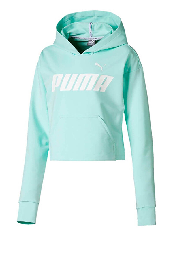 Puma MODERN SPORTS HOODY Mavi Kız Çocuk Sweatshirt