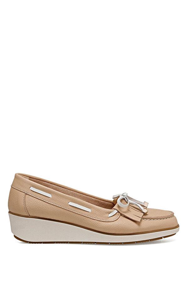 Nine West AGHA Pudra Kadın Dolgu Topuk Ayakkabı