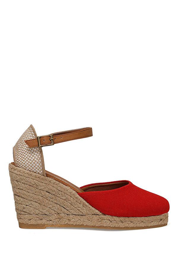 Nine West ARTEMISIA Kırmızı Kadın Dolgu Topuk Sandalet