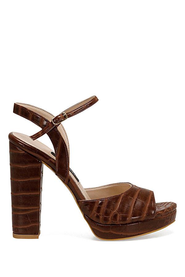Nine West CENDO Kahverengi Kadın Topuklu Sandalet