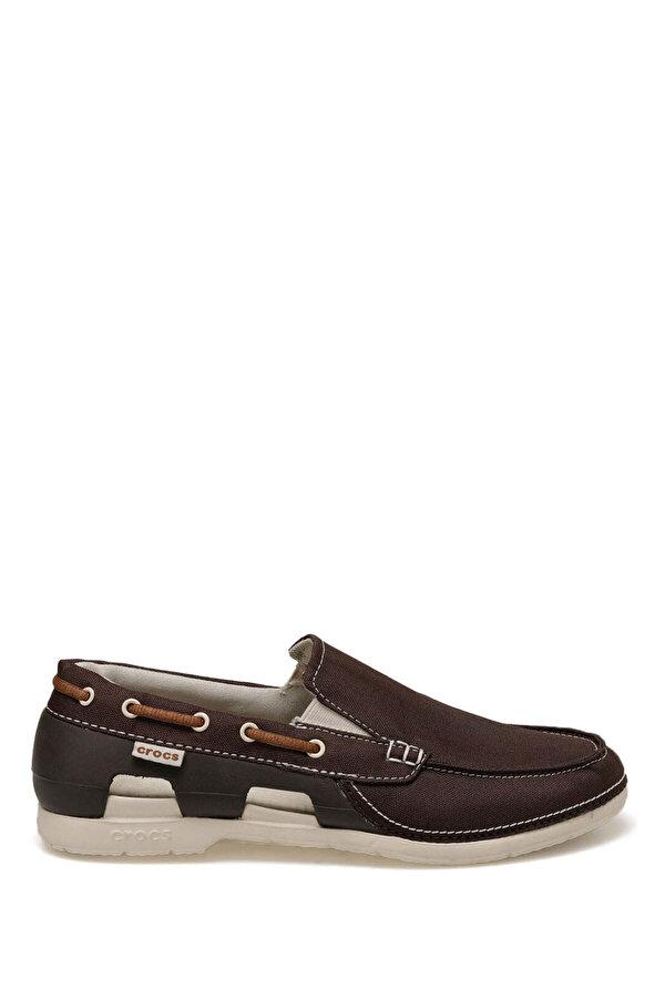 Crocs BEACH LINE BOAT SLIP ON E Kahverengi Erkek Loafer Ayakkabı
