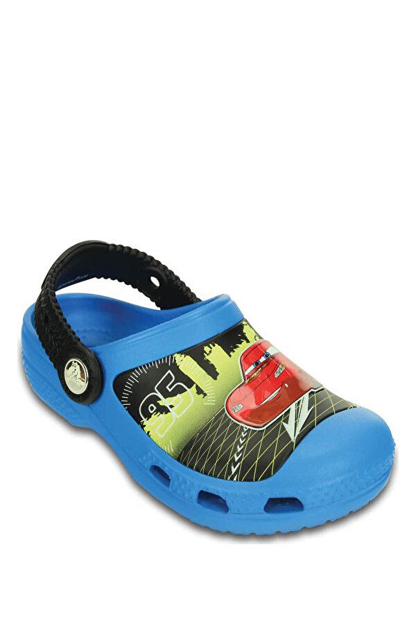 Crocs CREATIVE LIGHTNING MCQUEE Mavi Erkek Çocuk Sabo Terlik