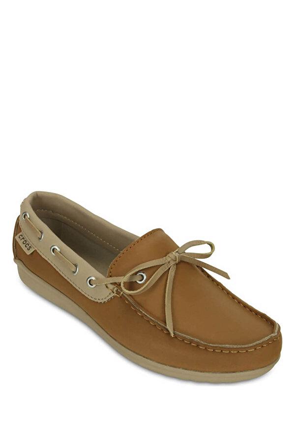 Crocs WRAP COLORLITE LOAFER WOM Kahverengi Kadın Loafer Ayakkabı