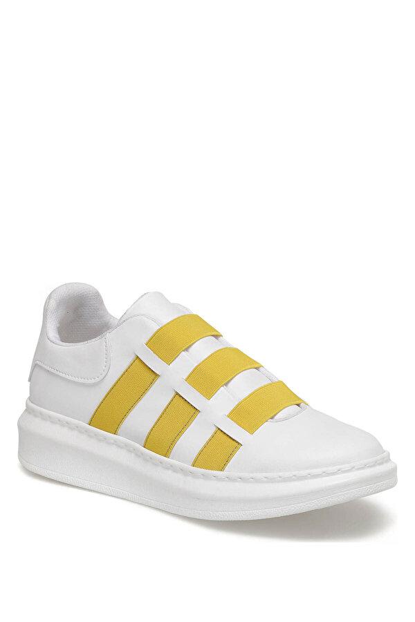 Butigo VOLGA Beyaz Kadın Havuz Taban Sneaker